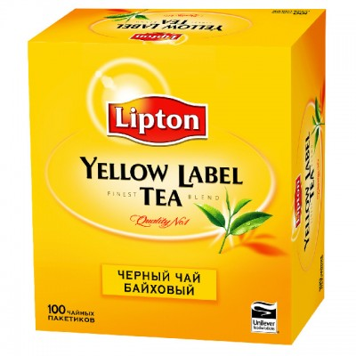 "Чай "" Липтон"" Yellow Label  100пак."
